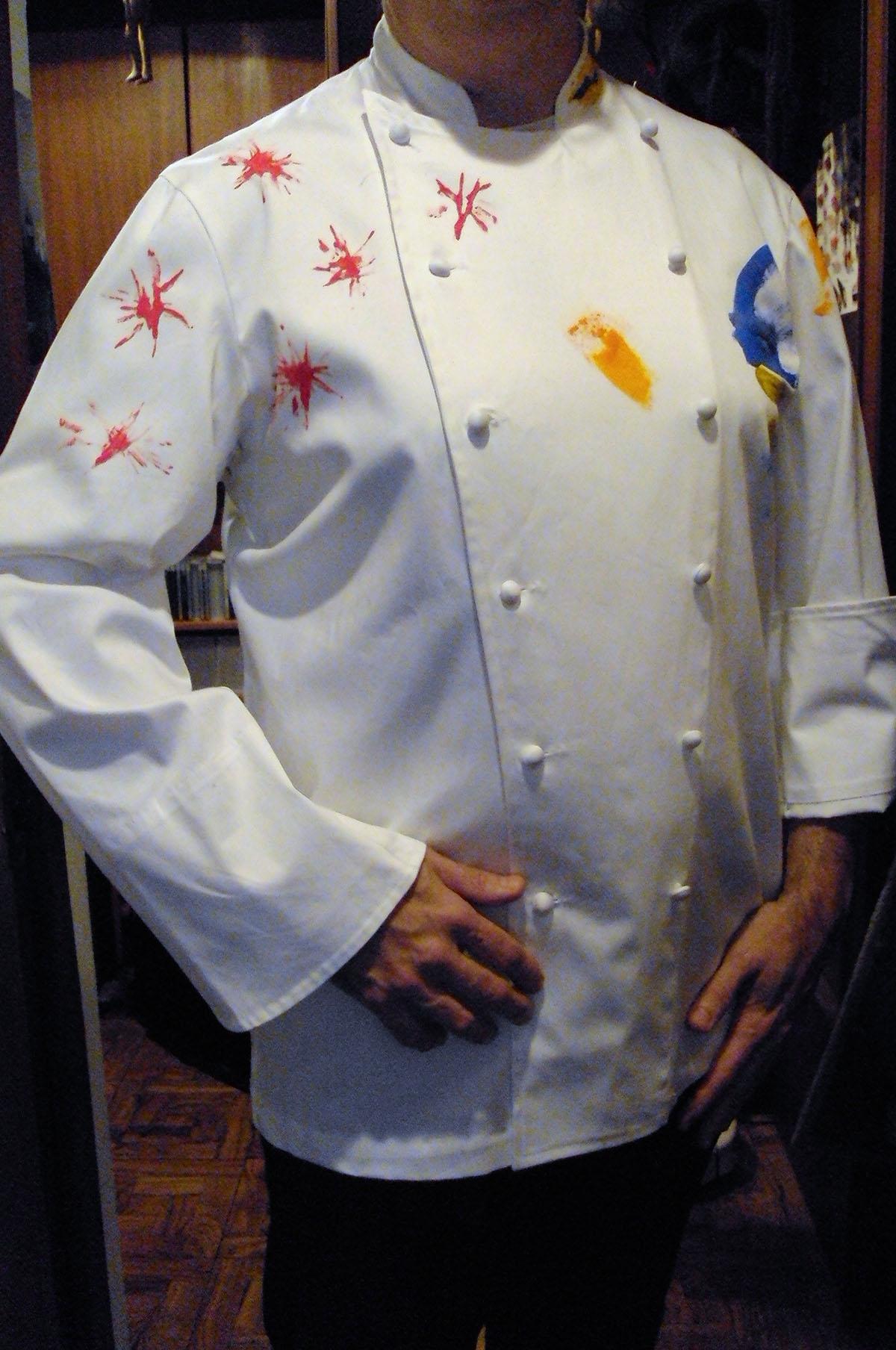 Chaquetillas y filipinas de lujo xabier gutierrez cocinero - Chaquetillas de cocina ...
