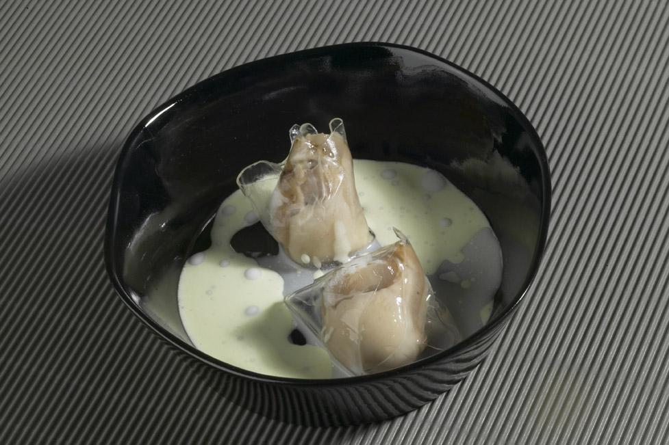 La corteza de una ostra del libro cocinar de cine for Cocinar ostras