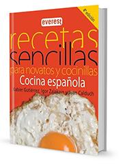 recetas sencillas Xabier Gutierrez cocina española